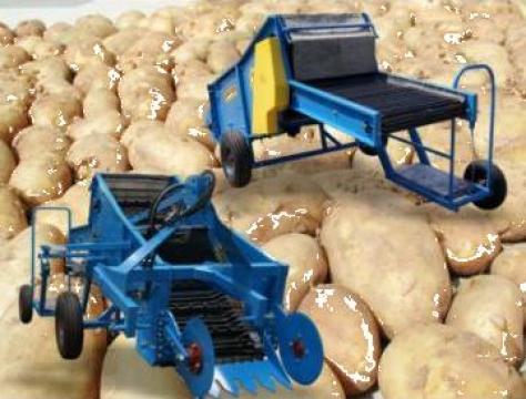 Masina de recoltat cartofi timpurii Mini Pyrus M664 1 rand