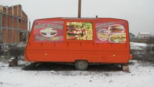 Rulota amenajata fast food