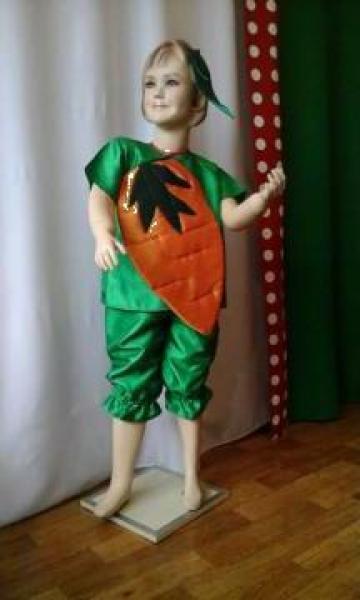 Costum serbare copii Morcov de la Costume De Serbare Pompilia Silaescu