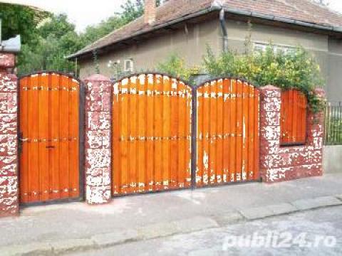 Gard lemn Timis de la CCM Ecorom Srl