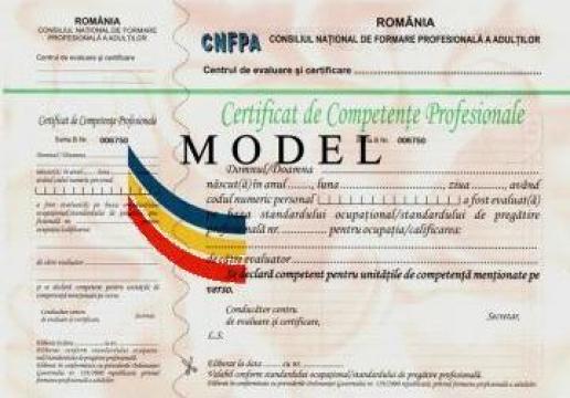 Evaluare competente profesionale Ospatar (chelner) de la Estetic Clas Srl.