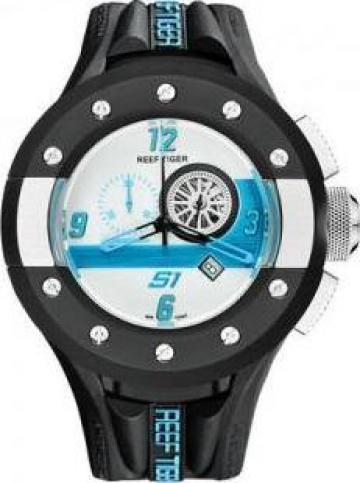 Ceas barbatesc Reef Tiger / RT Chronograph Sport Watch de la S.c. Celestial Life S.r.l.-d.