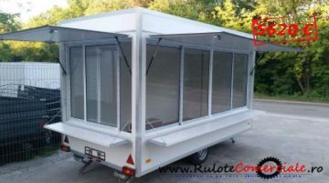 Rulota Premium 4x2x2.30 metri de la Avtoban Trailer Srl