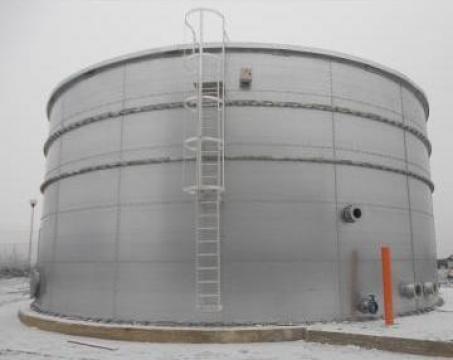 Rezervor metalic stocare apa de la Genmod Serv