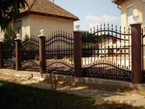 Garduri fier forjat Bucuresti de la Rollux Construct