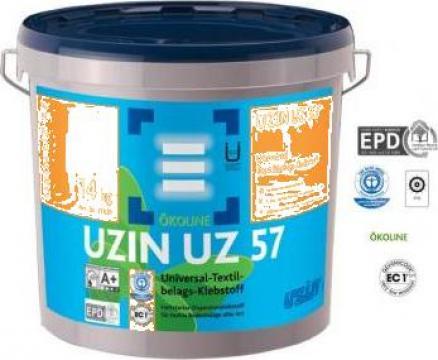 Adeziv universal pentru mochete, acoperitori textili UZ 57