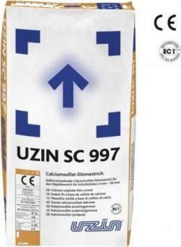 Sapa autonivelanta pe baza de sulfat de calciu Uzin SC 997