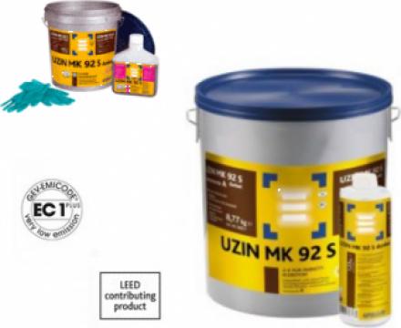 Adeziv pentru parchet de culoare inchisa Uzin MK 92 S dark