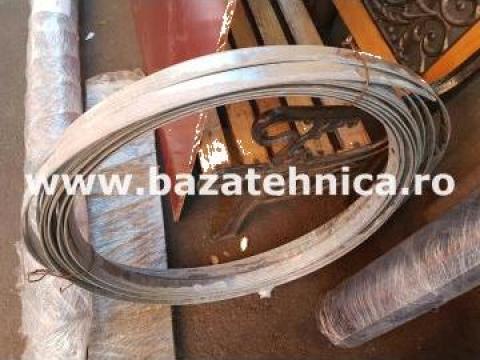Platbanda otel galvanizat pentru impamantare 30x3 mm de la Baza Tehnica Alfa Srl