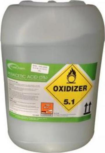 Acid peracetic 15%, canistra 30Kg/IBC 1200 Kg