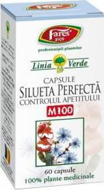 Ceai pentru slabit Silueta perfecta (60 capsule) de la Simidon Srl