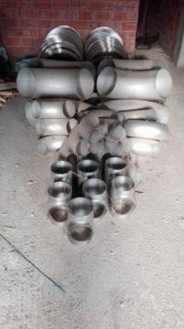 Fitinguri inox AISI 316L 90 grade R=1,5D D 168,3 x 3 mm