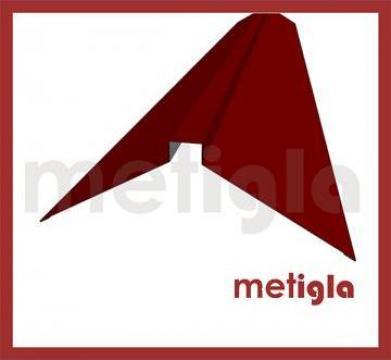 Coama dreapta pentru acoperis Metigla de la Executie Acoperisuri - Www.executie-acoperisuri.ro