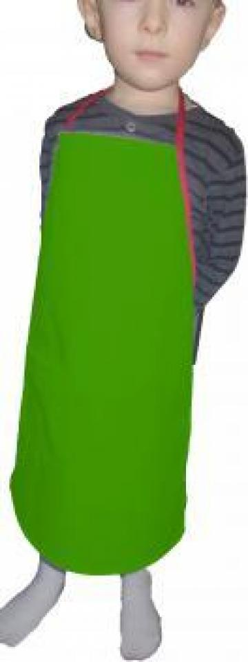 Sort verde de bucatarie pentru copii de la Johnny Srl.