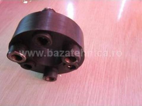 Cuplaj cauciuc pod rulant De 117 x Di 50 x 40 mm de la Baza Tehnica Alfa Srl