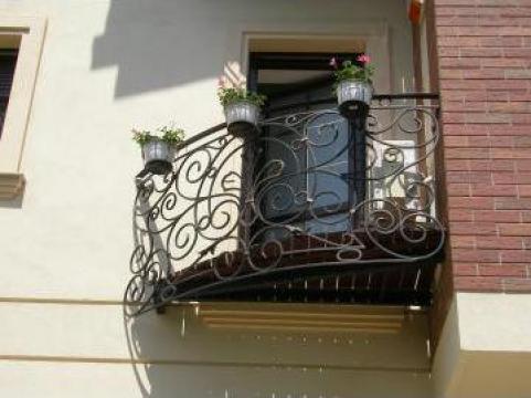 Balcon fier forjat BG 024 de la Teluria S.r.l.