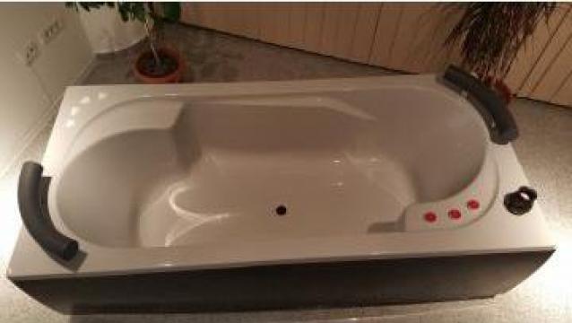 Cada baie dreptunghiulara 190 x 90 cm
