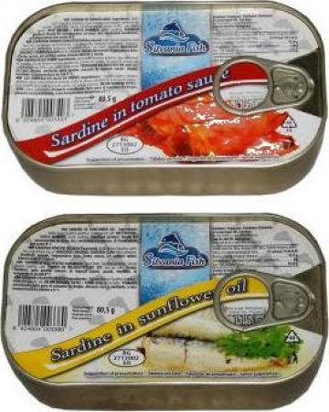 Conserva sardine 115gr Silvania