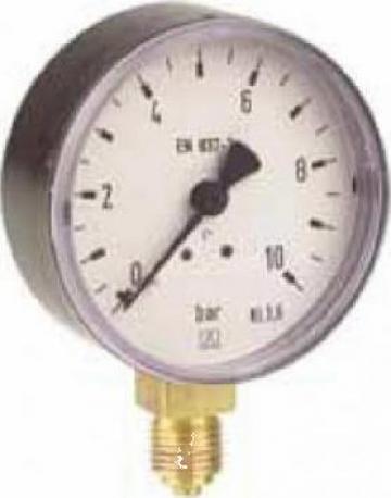Manometru industrial 63D200 de la Nascom Invest