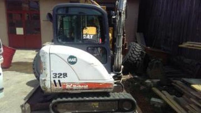 Mini excavator Bobcat 328 de la Grup Utilaje Srl