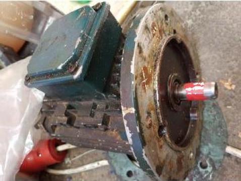 Reparatie motor electric, bobinare si schimbare rulmenti