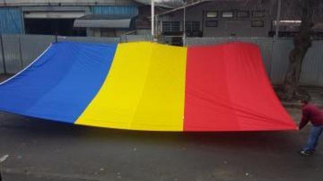 Drapel Romania si U.E. de la Sc Color Tuning Srl