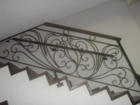 Balustrada scara fier forjat BA003 de la Vietta Srl