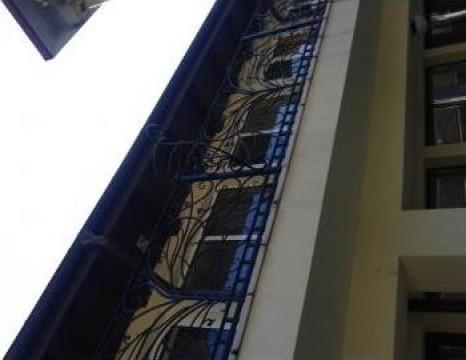 Balcon din fier forjat
