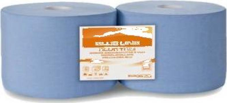 Hartie albastra industriala 3 straturi mini
