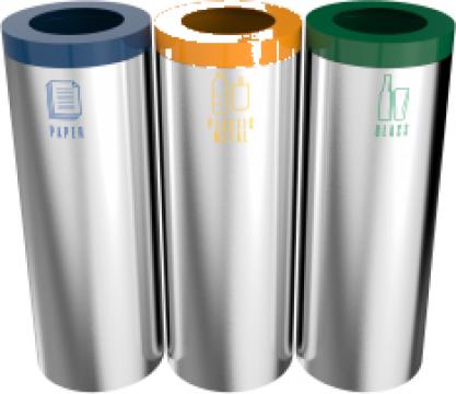 Cosuri rotunde moderne reciclare Stella SST 3x60L de la Forward Support Srl