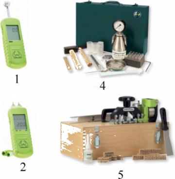 Instrumente de masurat umiditate, rezistenta