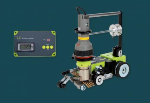Robot automat de sudat pardoseli Weldmaster de la Alveco Montaj Srl
