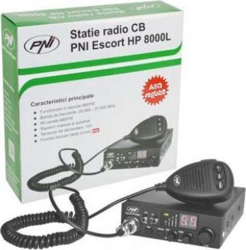 Statie radio PNI HP 8000L 12Vcc-cu ASQ