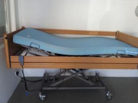 Pat automatizat pentru spital, azil, paralizati, batrani de la Ortopedia Transilvania
