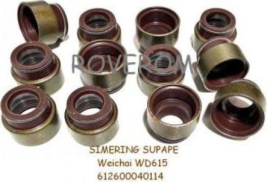 Simering supape Weichai WD615, WP10, MAN, Mercedes, Renault