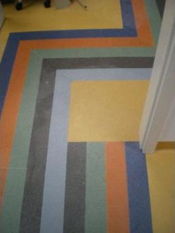 Linoleum PVC multicolor