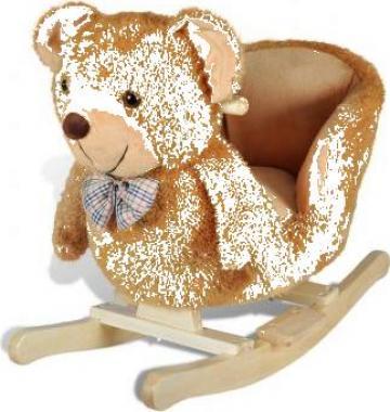 Scaun balansoar copii cu ursulet de la Vidaxl