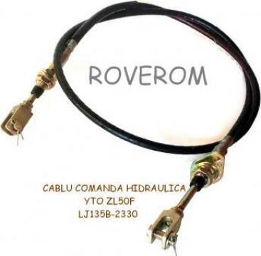 Cablu comanda hidraulica YTO ZL50F, YTO ZL50C-II de la Roverom Srl