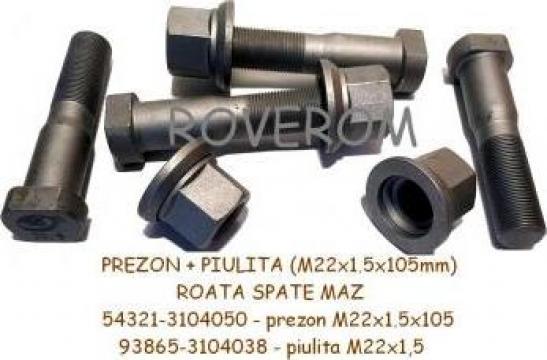 Prezon + piulita roata spate MAZ-5440, 5551, 6442, MAZ-103