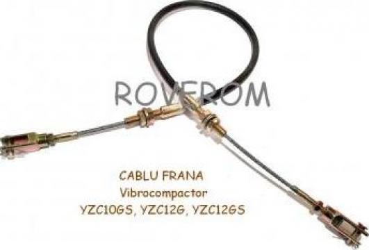 Cablu frana vibrocompactor YZC10GS, YZC12G, YZC12GS de la Roverom Srl