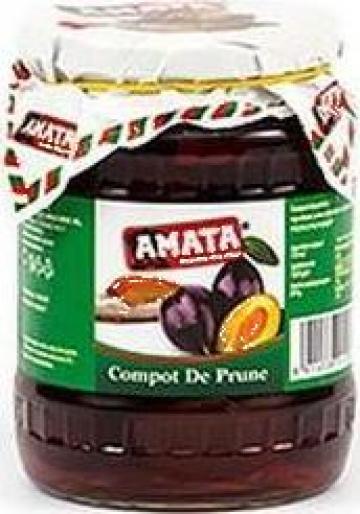 Compot de prune Amata de la S.c. Italin Gross Impex S.r.l.