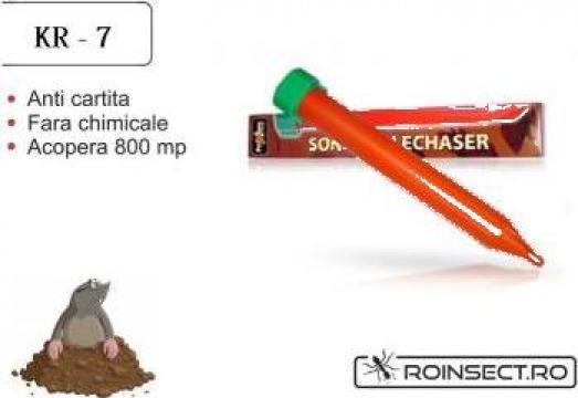 Dispozitiv pentru combaterea rozatoarelor subterane KR-7 de la Agan Trust Srl
