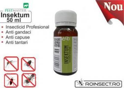 Insecticid universal Insektum 50ml (solutie anti gandaci) de la Agan Trust Srl