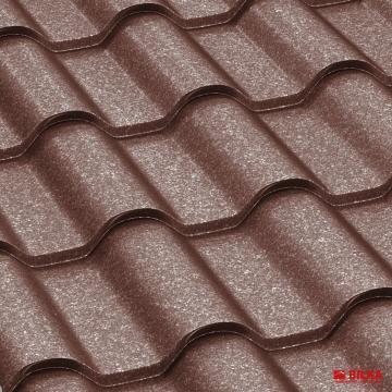 Tigla metalica Bilka Romanic 0.5 Quartz de la BDM Roof System