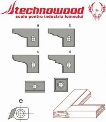 Placute amovibile pentru set usite 3 freze G3 de la Technowood Srl