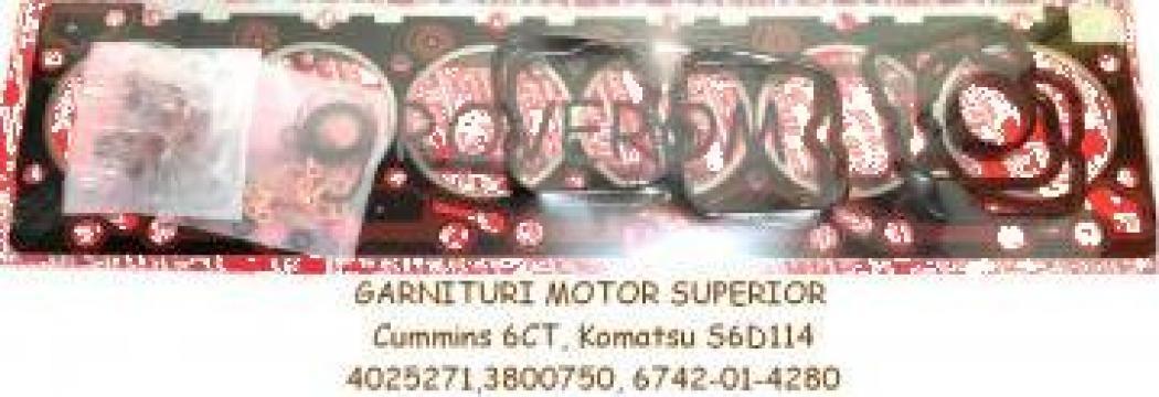 Garnituri motor superior Cummins 6CT, 6CTA, Komatsu S6D114