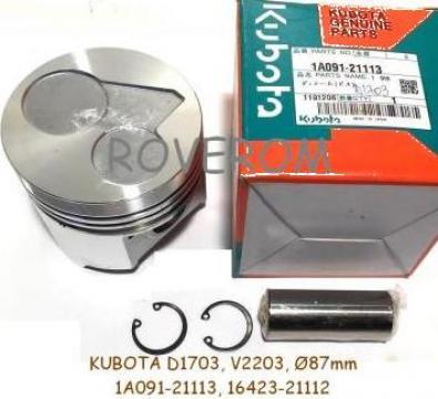 Piston kit Kubota D1703, V2203, Bobcat, Volvo, Terex, Neuson