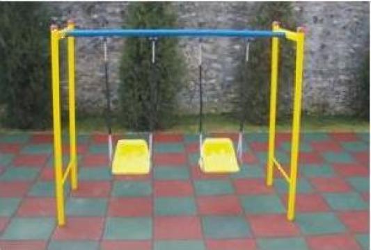 Leagan pentru copii pentru parcuri, gradini de la Ygrocris Dorally Steel Srl