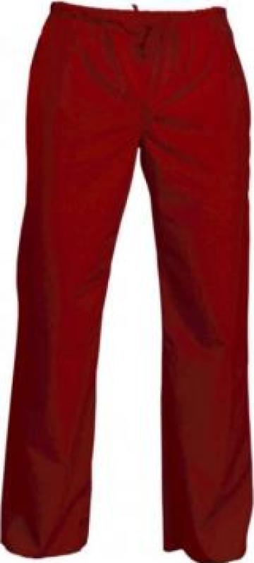 Pantaloni medicali rosii de la Sc Atelier Blue Srl
