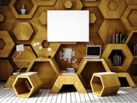 Panouri decorative lemn masiv sau MDF de la Signature Home Srl